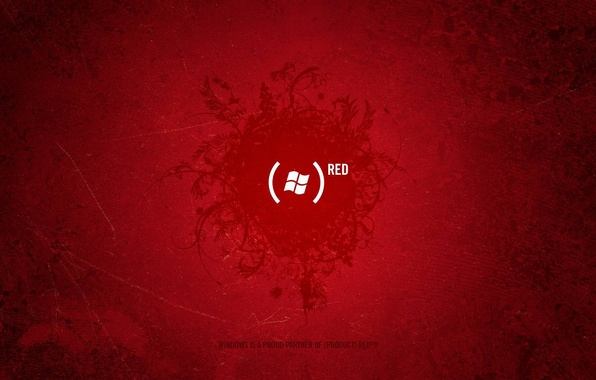Picture red, the inscription, logo, Texture, brackets