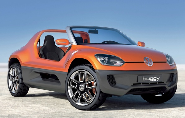 Picture desert, the concept, blue sky, volkswagen Buggy