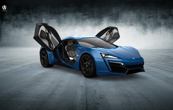 Picture blue, 2014, HyperSport, Lykan, W Motors