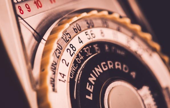 Picture Vintage, Macro, Light meter, Leningrad 4