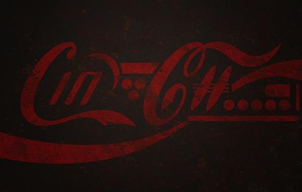 Picture metal, future, paint, logo, rust, cola, coca