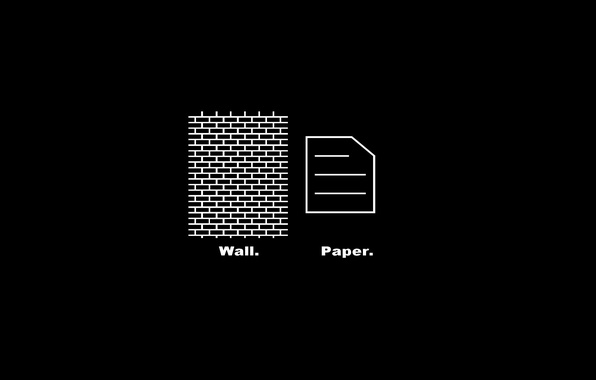 Picture paper, the dark background, wall, the inscription, wall, paper
