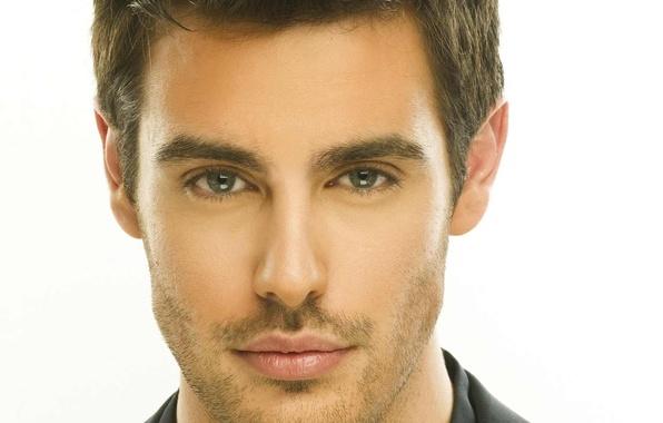 Picture green, blue, eyes, beautiful, lips, singer, hair, greece, handsome, shirt, beard, martakis, kostas, greek