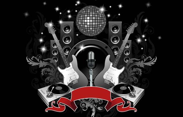 Picture club, disco, guitar
