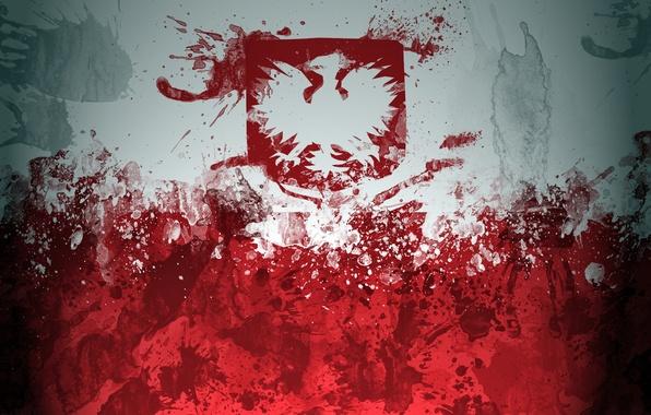 Picture flag, Poland, flag, Poland, flaga, Russia