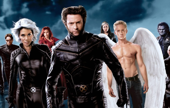 Picture the storm, beast, Halle Berry, Halle Berry, Phoenix, Famke Janssen, Wolverine, Hugh Jackman, X-Men, Logan, …