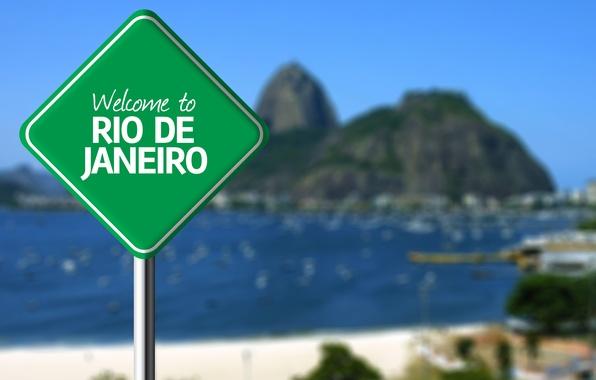 Picture background, sign, Rio de Janeiro, Rio de Janeiro