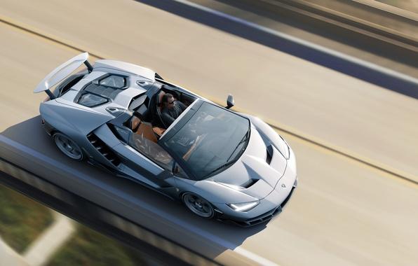 Picture machine, auto, Wallpaper, Roadster, speed, Lamborghini, auto, wallpapers, Centennial