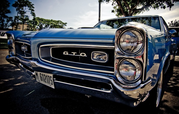 Picture Pontiac, GTO, muscle car, 1967