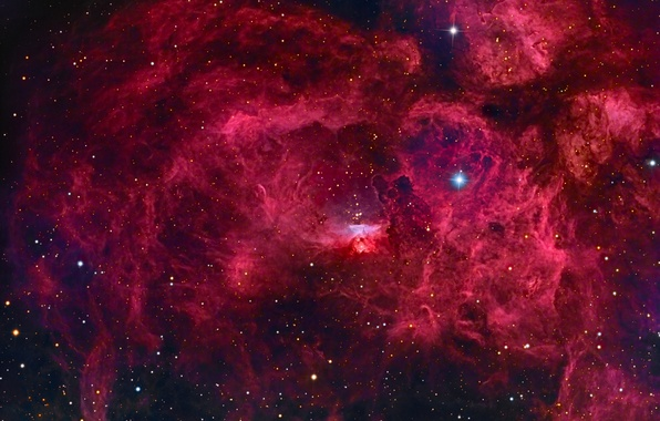 Picture space, nebula, stars, The world, constellation