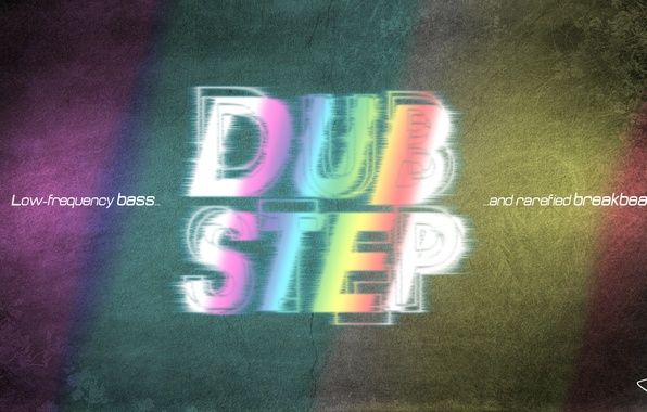 Picture music, bass, music, words, the phrase, Dubstep, dub, bass, step, dubstep