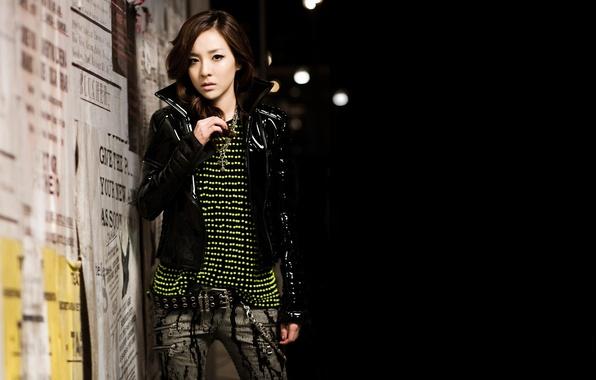 Picture girl, music, Asian, South Korea, K-Pop, 2NE1, DARA