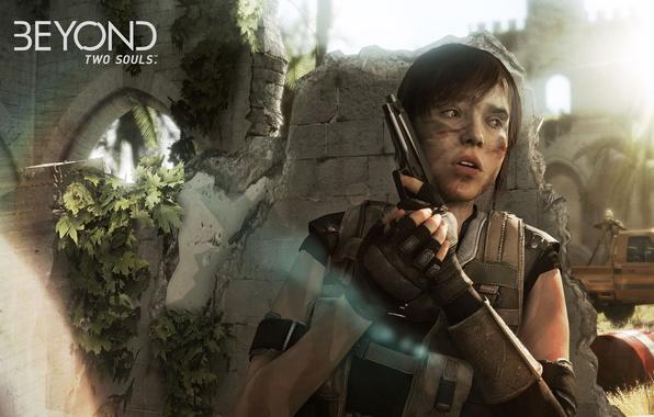 Picture gun, Quantic Dream, Beyond: Two Souls, Ellen Page, Jodie Holmes