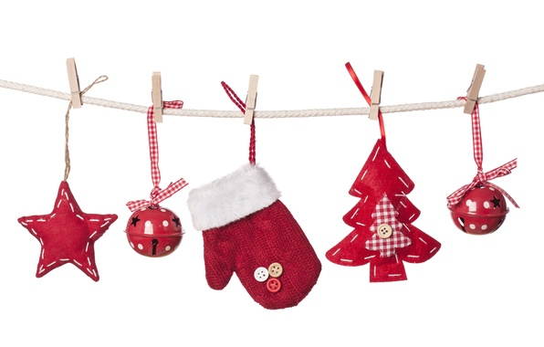 Picture stars, decoration, balls, toys, tree, gloves, balls, stars, toys, New Year, Merry Christmas, clip, Christmas …
