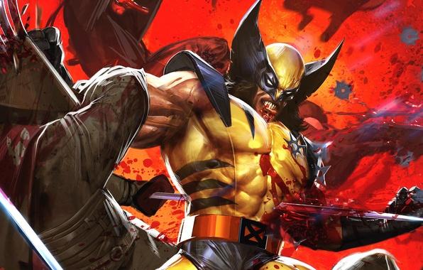 Picture X-Men, wolverine, Marvel Comics, logan