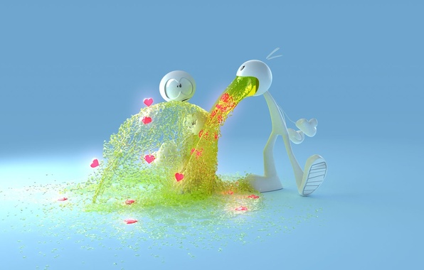 Picture love, Love, men, hearts