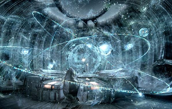 Picture space, fiction, planet, space, satellites, sci-fi, movie, planets, film, Prometheus, Ridley Scott, worlds, Prometheus, alien …