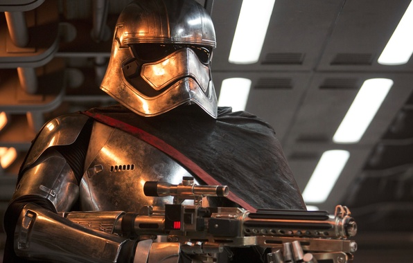 Picture Star Wars, The Force Awakens, Episode VII, captain phasma