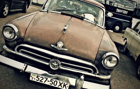 Picture background, Wallpaper, USSR, car, legend, Volga, Volga, Gaz, GAZ 21