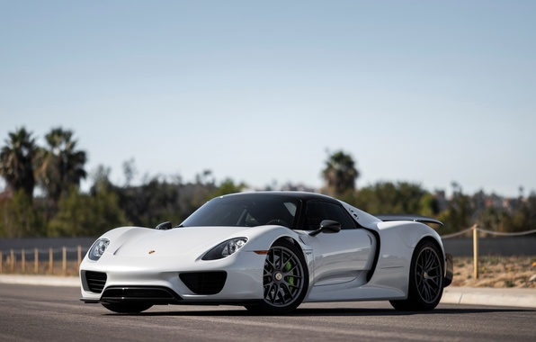 Photo wallpaper Porsche, Spyder, supercar, 918, Porsche