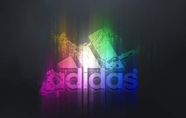 Picture squirt, background, paint, sport, glow, firm, Adidas, the bulge, erosion