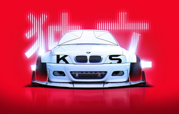 Picture BMW, Japan, Style, White, E46, by Khyzyl Saleem, Cosworth, M3