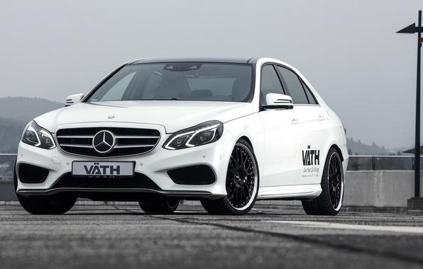 Photo wallpaper Mercedes-Benz, Mercedes, E-Class, VATH, V50, 2015, W212