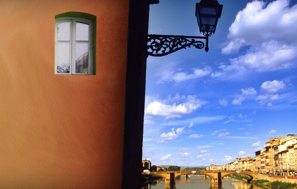 Picture bridge, Window, lantern