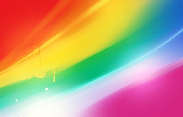 Picture line, bright, colored