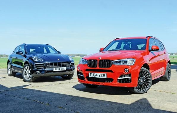 Picture BMW, Porsche, BMW, Porsche, Alpina, 2014, Alpina, Macan, makan, F25