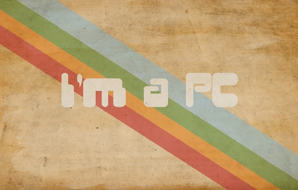 Picture style, the inscription, paint, minimalism, colors, lines, minimalism, style, 1920x1200, lines, i'm a pc, lettering