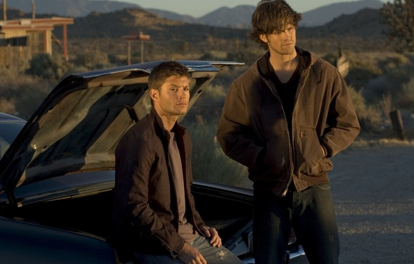 Picture guys, Winchester, sam, supernatural, dean, Sam, supernatural, chevrolet impala, Dean