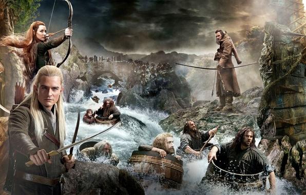 Picture elves, dwarves, Keeley, company, Legolas, The hobbit, The Hobbit, elves, Fili, Legolas, Tauriel, Thorin, Oakenshield, …