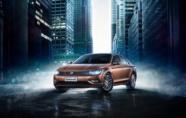 Picture Volkswagen, Volkswagen, 2015, Lamando, lamanda