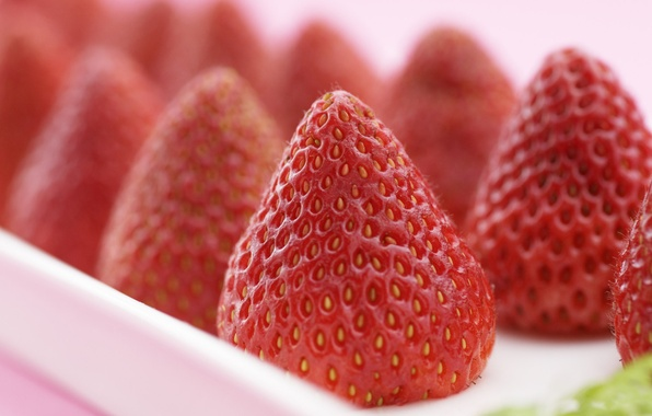 Picture macro, red, strawberry, berry