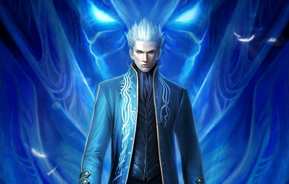 Picture the demon, DMC, blonde, game wallpapers, Virgil, Devil may cry 3, special edition, Virgil, devil …
