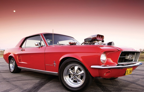 Picture engine, Ford Mustang, power