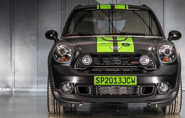 Picture Logo, Grille, The hood, Lights, Mini Cooper, Rally, Dakar, Dakar, SUV, MINI, Mini Cooper
