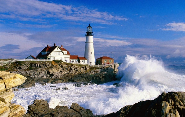 Picture Lighthouse, Maine, Portland