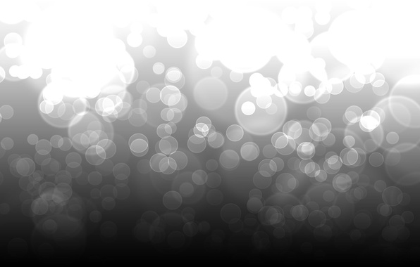 Picture light, circles, abstraction, patterns, point, b/W, light, circles, patterns, 1920x1200, bokeh, bokeh, abstraction, dots, b&w