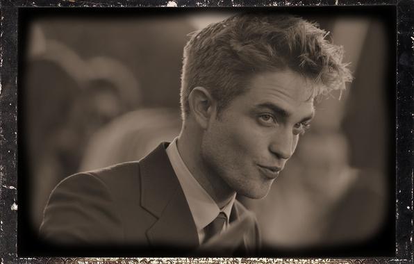Picture lips, actor, Male, Robert Pattinson