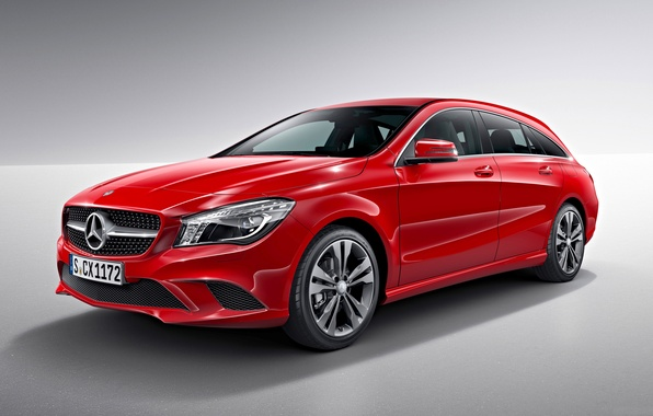 Picture red, background, Mercedes-Benz, Mercedes, universal, CLA-Class, X117