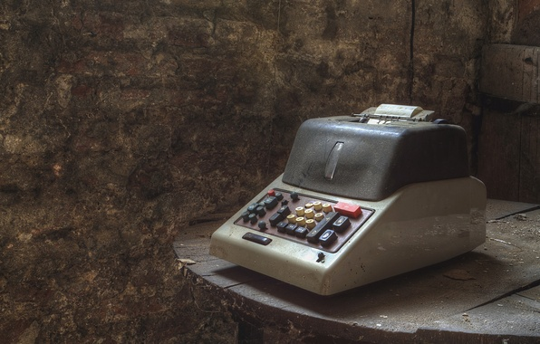 Picture table, background, cash register
