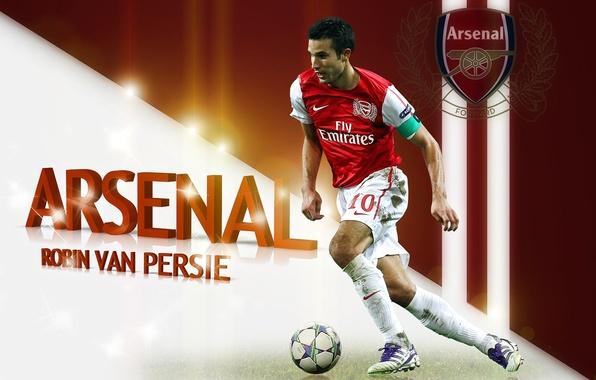 Picture the ball, arsenal, Arsenal, Robin van Persie, robin van persie