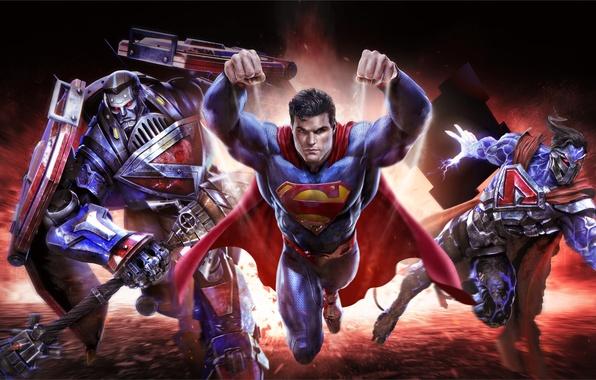 Picture art, Superman, mmorpg, Clark Kent, DC comics, Warner Games, infinite crisis, Kal-El