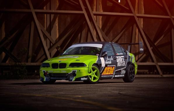 Picture BMW, BMW, Drift, Drift, Drives, E46, 3 series