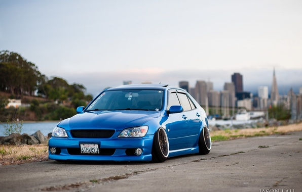 Wallpaper Turbo Lexus Japan Toyota Blue Jdm Tuning