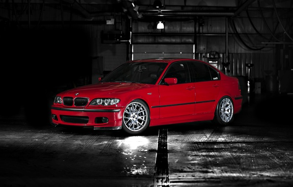 Picture Red, BMW, BMW, Profile, E46, 330i