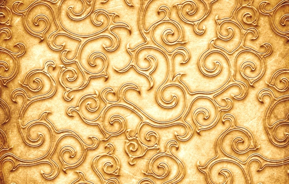 Picture pattern, texture, texture, pattern, Golden color, Golden color