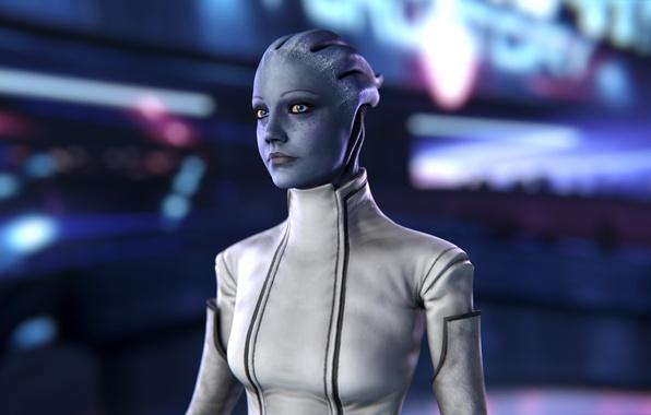 Picture Mass Effect, asari, Liara T Soni, scientist